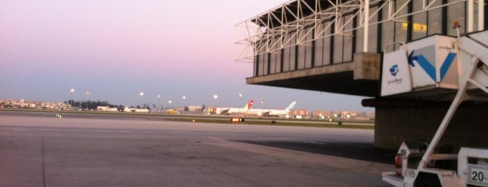 Lisbon Humberto Delgado Airport (LIS) is one of Airports of the World.