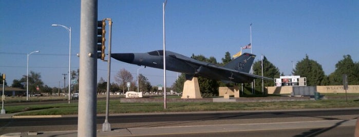 Cannon AFB is one of places I been.