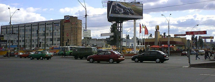 Тульська площа is one of Площади города Киева.