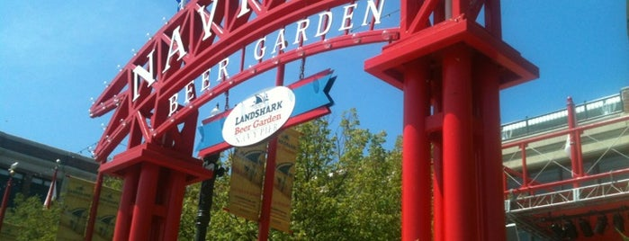 Landshark Beer Garden is one of 2 do list # 2.