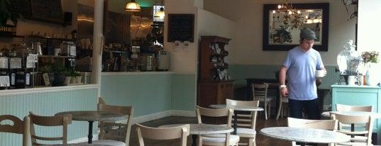 Kos Kaffe Roasting House is one of NY Espresso.