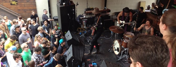 The Mohawk is one of Austin's Best Music Venues - 2012.