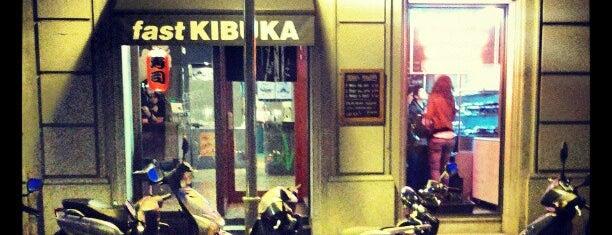 Fast Kibuka is one of Restaurantes Japoneses Barcelona.
