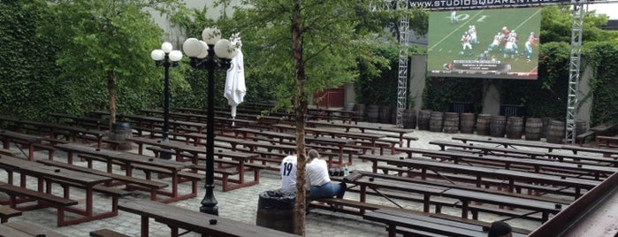 The Garden at Studio Square is one of Day Drinking in the Great (NYC) Outdoors.