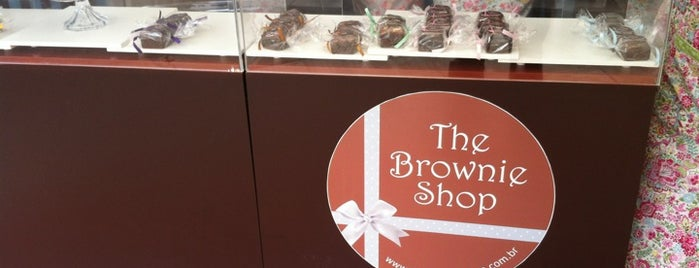 The Brownie Shop is one of Docerias/Sobremesas.