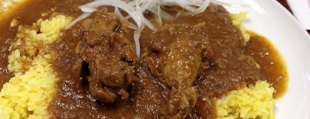 タンダーパニー is one of Osaka's Best Curry Places.