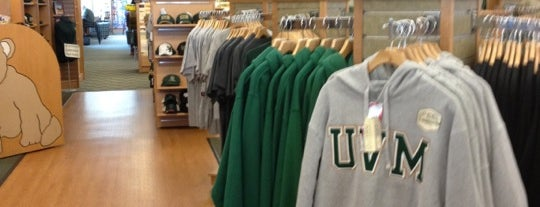 UVM Bookstore is one of Burlington.
