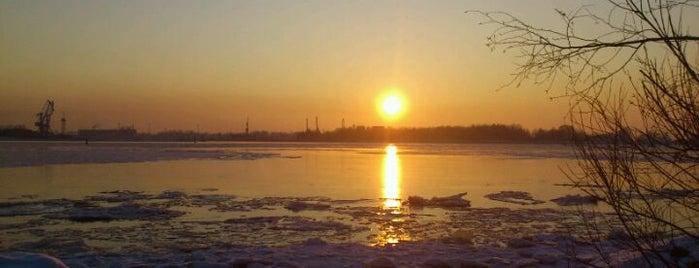 Austrumu / Mangaļsalas mols is one of Unveil Riga : Atklāj Rīgu : Открой Ригу.