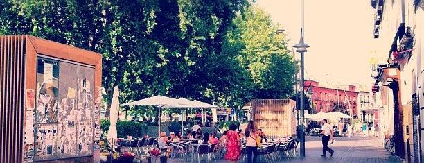 Plaza de Tirso de Molina is one of @ Madrid (MD, España).
