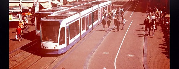 Tramhalte Koningsplein is one of Public transport NL.