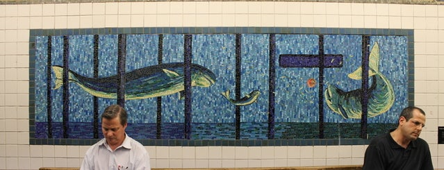 Houston Street is one of Subway Art in NYC.