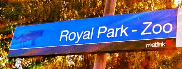 Royal Park Station is one of Campus guide - Monash Parkville.