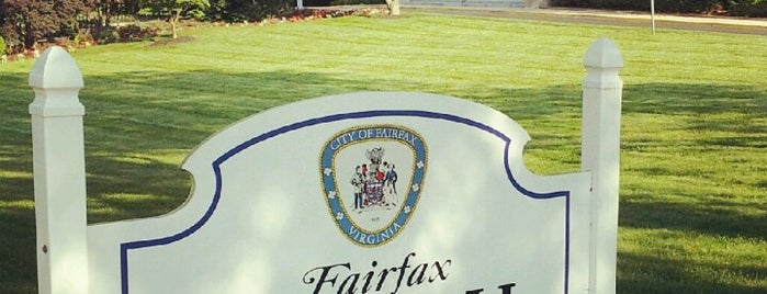 Fairfax City Hall is one of yes.