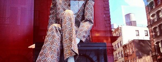 Prada is one of NYC's Soho.