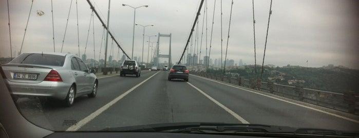Boğaziçi Köprüsü is one of Kuyumcu.