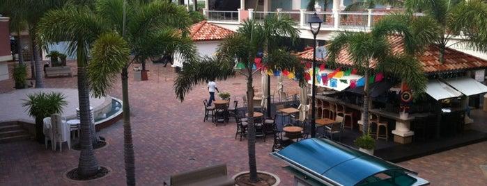 Palm Beach Plaza Mall is one of Aruba.