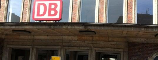 Bahnhof Rheine is one of Bahnhöfe DB.