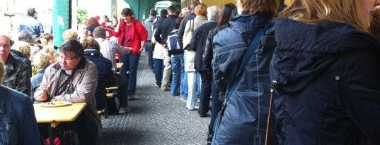 Konnopke's Imbiß is one of Berlin - insider travel tips.