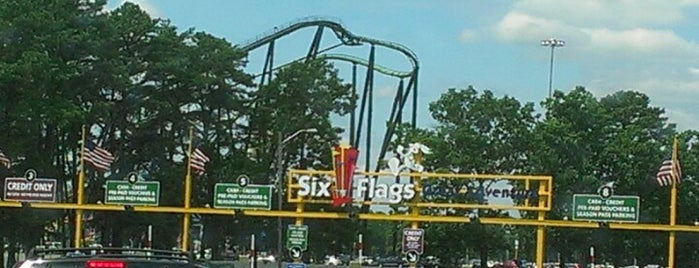 Six Flags Great Adventure is one of Things To Do In NJ.
