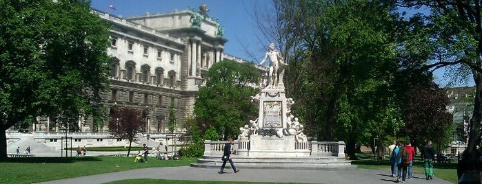 Burggarten is one of StorefrontSticker #4sqCities: Vienna.