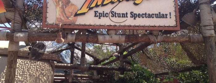 Indiana Jones Epic Stunt Spectacular! is one of Florida Rides 2012.