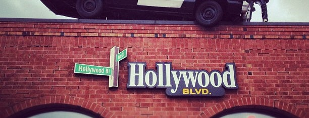 Hollywood Blvd is one of Favorite affordable date spots.
