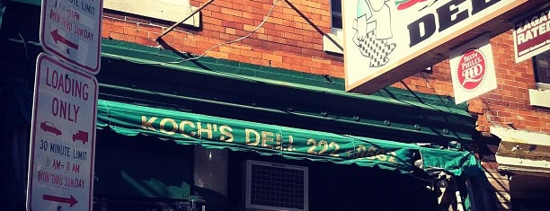 Koch's Deli is one of Authentic Philadelphia Hoagies.