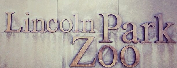Lincoln Park Zoo is one of The Crowe Footsteps.