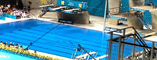 London 2012 Aquatics Centre is one of 2 do list # 2.