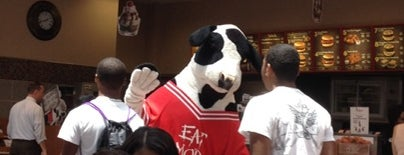 Chick-fil-A is one of 20 favorite restaurants.