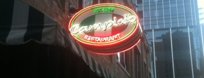 Campisi's is one of Let's eat pizza in D-FW!.