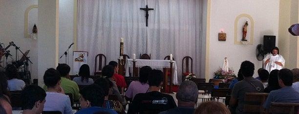 Capela São Sebastião is one of Vicariato Oeste [West].