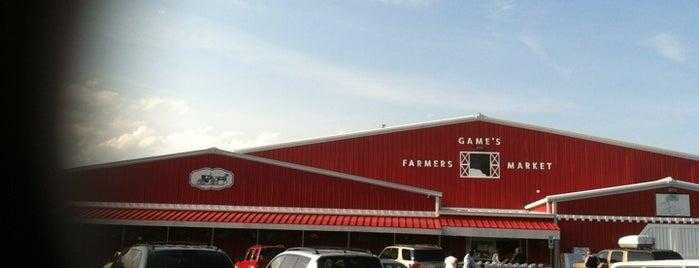 Games Farmer's Market is one of Guide to Hampton's best spots.