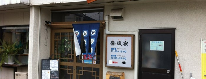 中華ダイニング 喜暖家 is one of Ramen shop in Morioka.