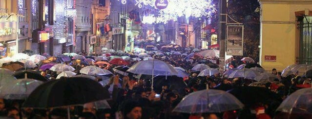 İstiklal Avenue is one of Istanbul.