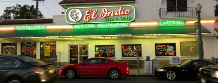 El Indio is one of Triple D Checklist.