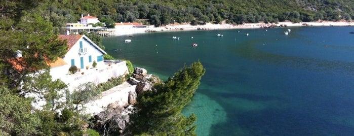 Praia do Portinho da Arrábida is one of TOP 10: Favourite places of Lisbon coast.