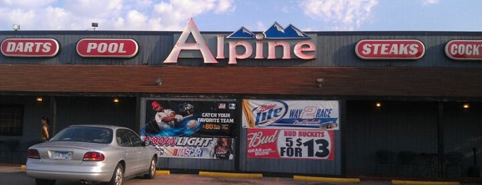 The Alpine Inn is one of Best Hot Beef Sandwiches.