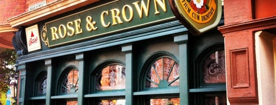 The Rose & Crown Pub & Dining Room is one of Epcot World Showcase.