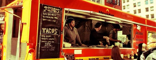 Mexicue Taco Truck is one of Top Food Trucks in Midtown.