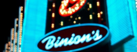 Binion's Hotel & Casino is one of Vegas.