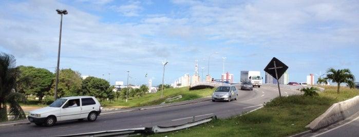 Viaduto de Ponta Negra is one of Lugares por onde andei..