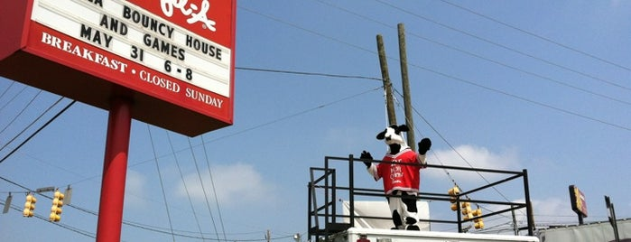 Chick-fil-A is one of Must-visit Fast Food Restaurants in Mooresville.
