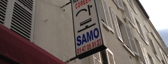 Samo is one of Paris.
