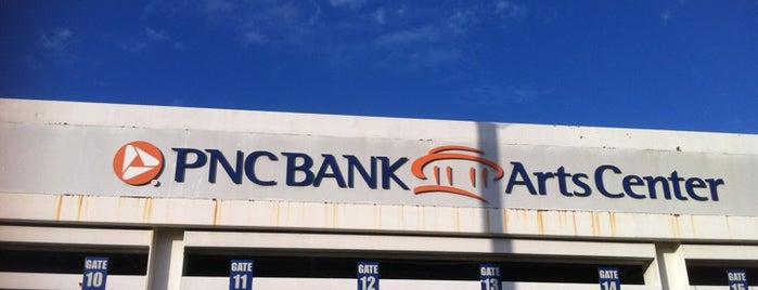 PNC Bank Arts Center is one of Sweet Deals Facebook Page.