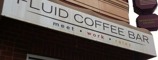 Fluid Coffee Bar is one of coffee places.