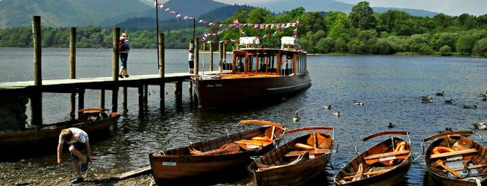 Keswick Launch is one of 36 hours in... the Lake District.
