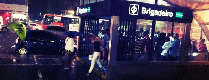 Estação Brigadeiro (Metrô) is one of Metro Sp.