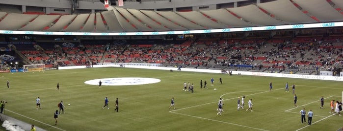 BC Place is one of Major League Soccer Stadiums.