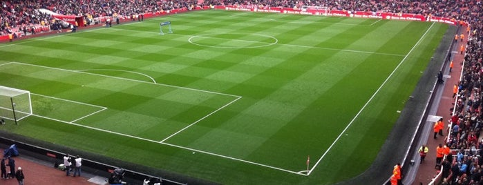 Emirates Stadium is one of Football grounds visited.